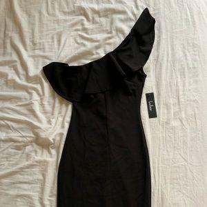 Black Midi Dress *new with tags*